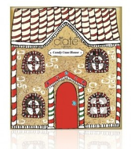 candy cane house